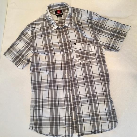 Quiksilver Other - Quicksilver Burnsfield Plaid Short Sleeve Shirt